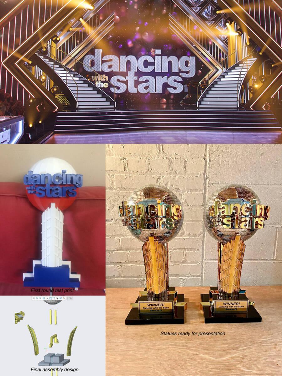 dancing with the start season 20 award trophy